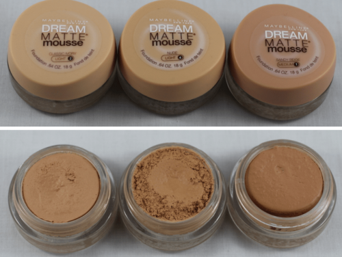 Maybelline Dream Liquid Mousse Foundation (Creamy Natural)