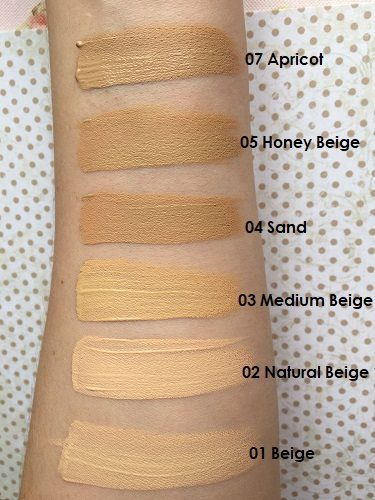 Note Cosmetics Mineral Foundation