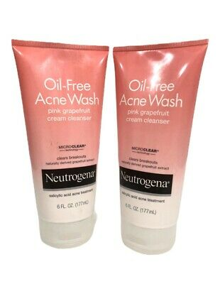Oil-Free Acne Wash Pink Grapefruit Cream Cleanser